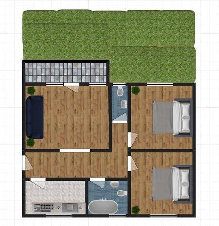 Apartament cu Gradina Proprie si Doua Locuri Parcare - imaginea 1