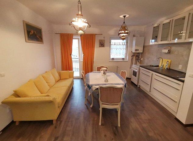 INCHIRIEZ apartament 3 camere ,partial mobilat,zona Turnisor - imaginea 1