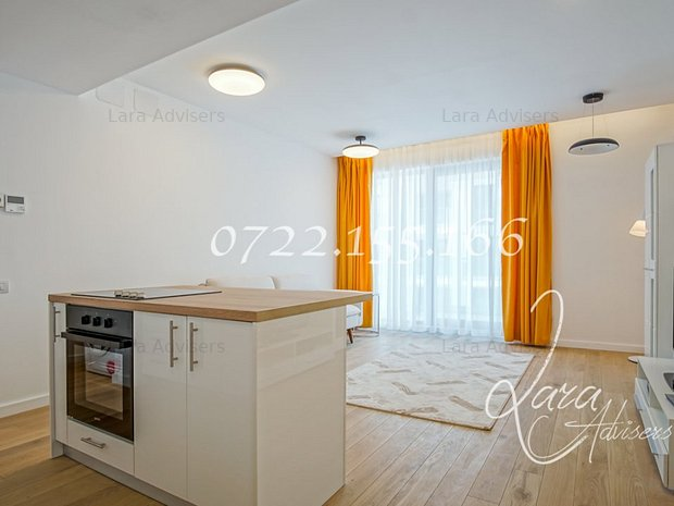 Nou!!! One Herastrau Plaza, apartament lux 2 camere si parcare - imaginea 2