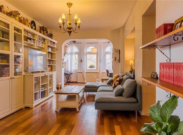 Apartament 3 camere in vila | Domenii | Constantin Sandu-Aldea - imaginea 1