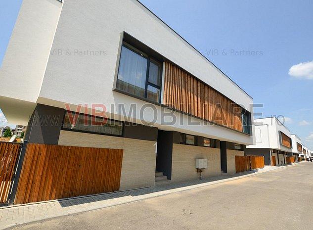 Pipera - BRD - vila LUX P+1 - 4 camere -: Pipera - Drumul Bisericii - vila LUX 4 camere in ansamblu rezidential