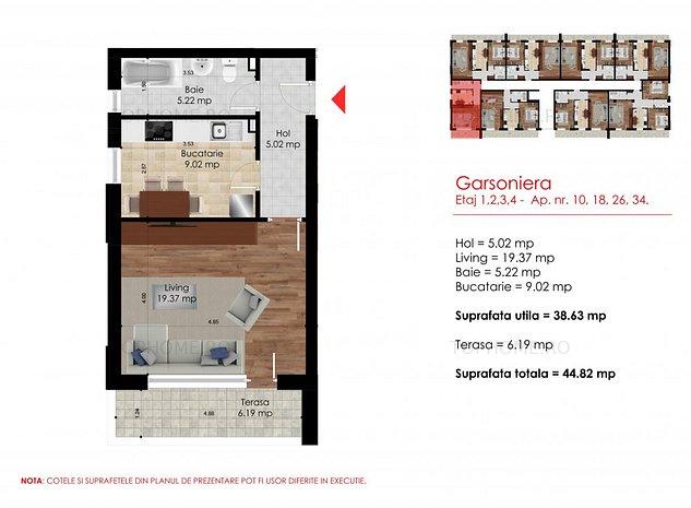 Garsoniera- Dimitrie Leonida- OFERTA - imaginea 1