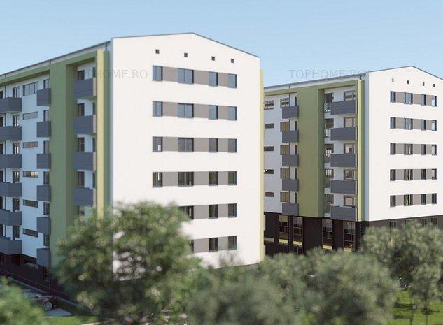 3 camere decomandat, ansamblu rezidential Aparatorii Patriei - imaginea 1
