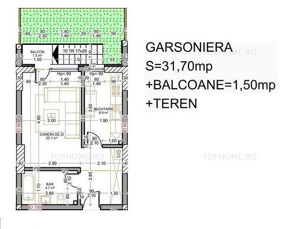 Berceni-Metrou Berceni-Garsoniera+curte-Cash/Ipotecar/Noua casa - imaginea 1