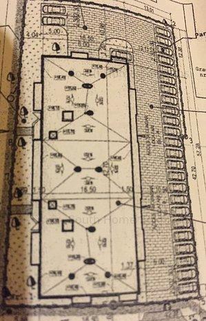 Teren pentru bloc, D+ P+4, fundatie inceputa, 52 de apartamente - imaginea 1