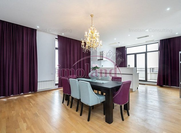 Penthouse de vanzare- inchiriere - 4 camere Baneasa - imaginea 1