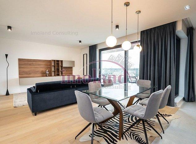 Apartament 4 camere LUX - PRIMA INCHIRIERE - HERASTRAU / AVIATIEI - imaginea 1