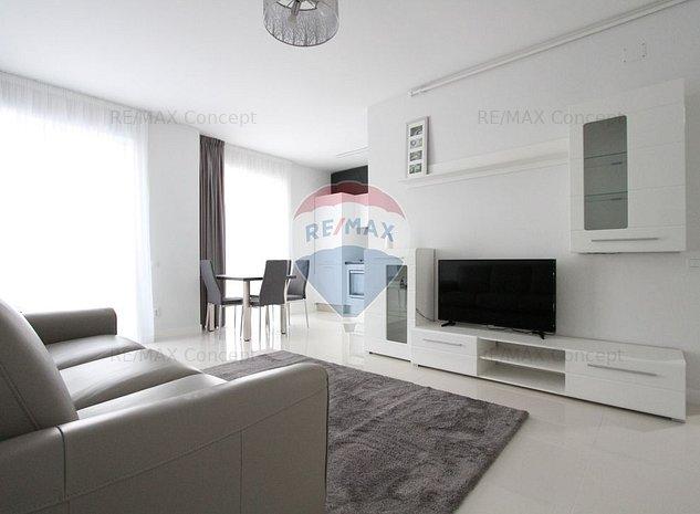 Apartament de lux, 3 camere, ultrafinisat, 71 mp, prima inchiriere - imaginea 1
