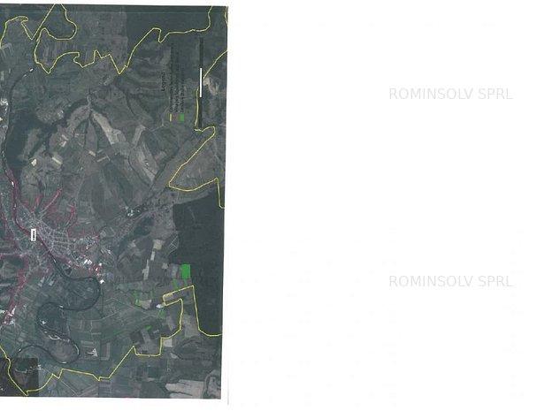 Teren extravilan de 68.800 mp situat in Loc. Lipova, Jud. Arad - imaginea 1
