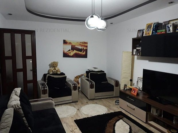 Brancoveanu-Turnu Magurele,apartament 2 camere,decomandat - imaginea 1