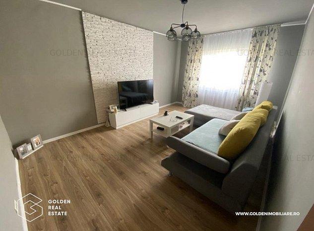 Apartament 3 camere,  zona Alfa, decomandat, centrala pe gaz - imaginea 1