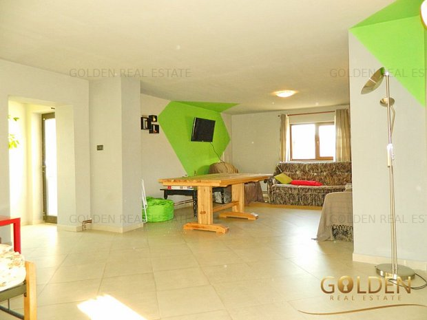Inchiriez casa 5 camere, mobilata si utilata, teren 1500 mp, Sanicolau Mic - imaginea 1