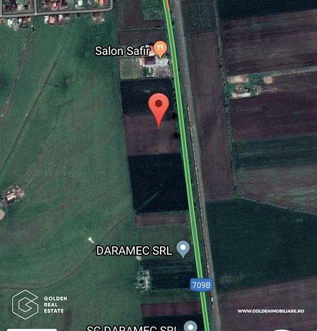 Teren extravilan, DJ 709, între Arad și Șofronea, 5000 mp - imaginea 1