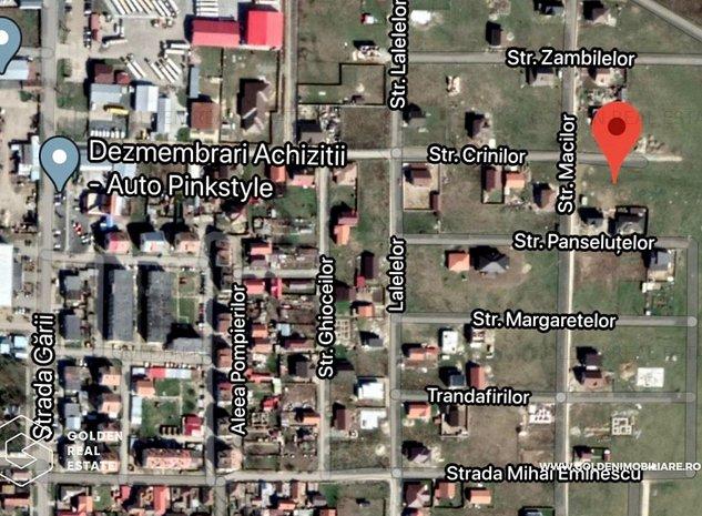 Teren de vanzare Vladimirescu, cartierul Florilor, 685 mp    - imaginea 1