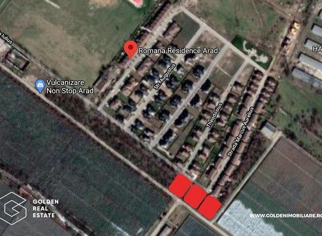 Teren intravilan, Gradiste, zona Romana Residence, 629 mp - imaginea 1