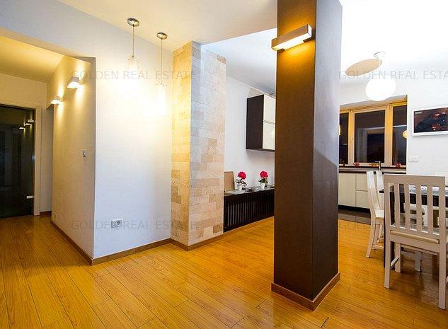 Apartament 3 camere, amenajat lux, zona Alfa, mobilat si utilat - imaginea 1