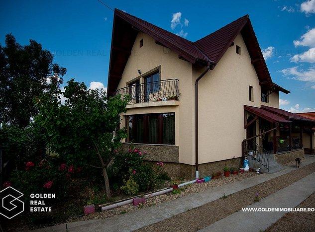 Casa 5 camere, Vladimirescu, cu gradina si terasa, teren de 938 mp - imaginea 1