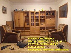 Apartament de închiriat 4 camere, în Piatra-Neamt, zona Maratei