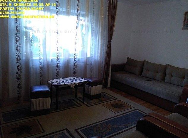 Apartament 2 camere, zona Centrala - imaginea 1