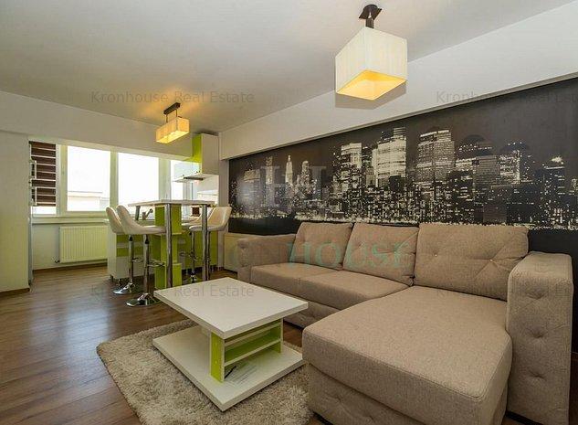 Apartament 3 camere modern si intim in cartierul Scriitorilor. - imaginea 1
