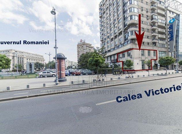 Spatiu comercial reprezentativ- Piata Victoriei- Calea Victoriei 224 - imaginea 1