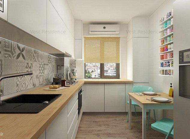Apartament 2 camere 60 mp. Bloc 2019. Comision 0 - imaginea 1