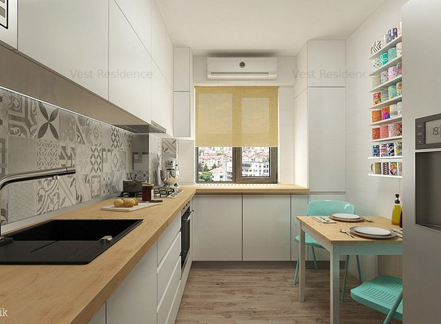 Apartament 3 camere 80 mp. Etaj1. Bloc 2019. Comision 0 - imaginea 1