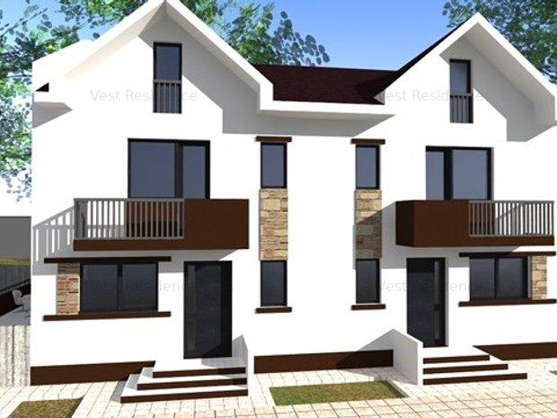 Duplex 4 camere, curte foarte mare, bine impartit, mansarda locuibila - imaginea 1