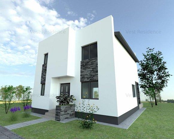 Casa individuala, 4 camere, 100.000 EUR doar in Octombrie. Comision 0 - imaginea 1