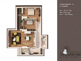 Apartament de vânzare 3 camere, în Bucureşti, zona Liviu Rebreanu