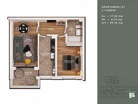 Apartament de vânzare 2 camere, în Bucureşti, zona Liviu Rebreanu