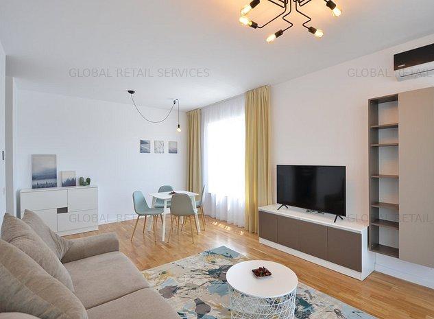 Apartament exclusivit 2 camere si parcare   Luxuria Domenii   Prima inchiriere! - imaginea 1