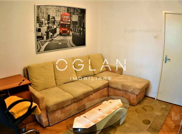 Apartament 2 camere, mobilat-utilat - Zona Milea - imaginea 1