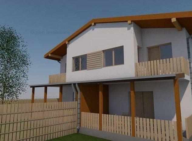 Casa tip duplex, 250 mp teren, zona Octavian Goga, Selimbar - imaginea 1