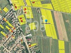 Teren agricol de vânzare, în Talmaciu, zona Central