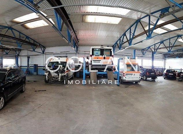 Hala Industriala activitate service auto - Selimbar DN 1 - imaginea 1