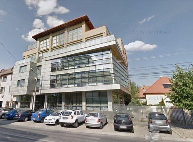 Office Calugareni - Birouri 756 mp clasa A zona Centrala Sibiu - imaginea 1