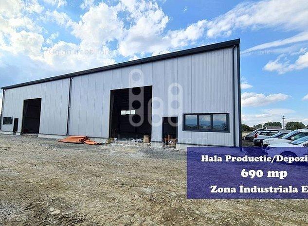 Hala productie/depozitare cu platforma pavata, Zona Industriala Est - imaginea 1