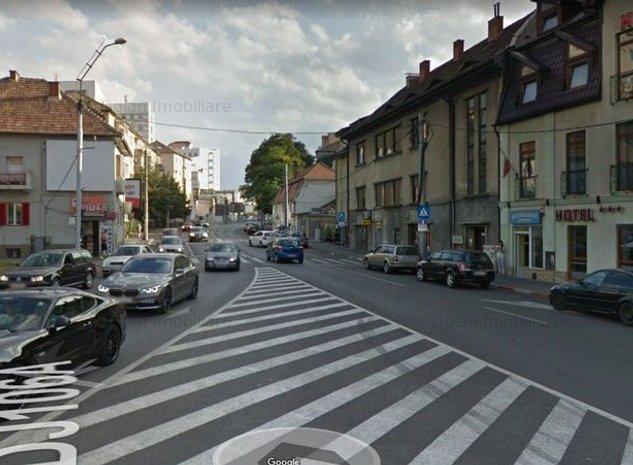 Spatiu comercial cu Vad Bun si vitrina - Calea Dumbravii Sibiu - imaginea 1
