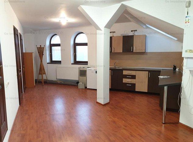 Apartament 2 camere zona Little Texas in bloc tip vila - imaginea 1