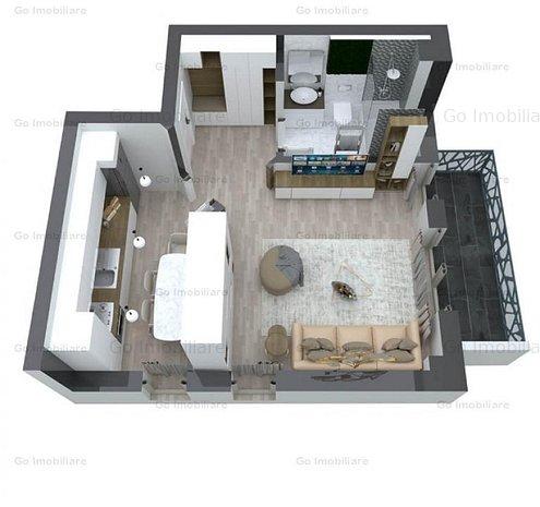 Apartament 1 camere, Pacurari - imaginea 1