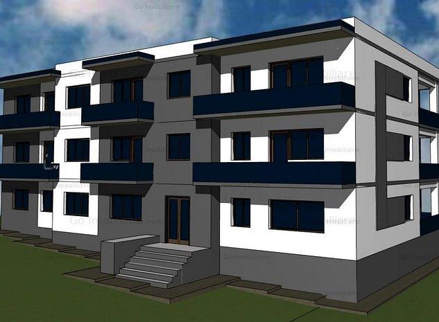 Apartament 3 camere Bucium - imaginea 1