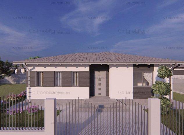 Casa Aroneanu plan parter - imaginea 1