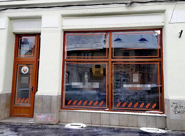 Spatiu comercial, vitrina la str. Lunga. - imaginea 1