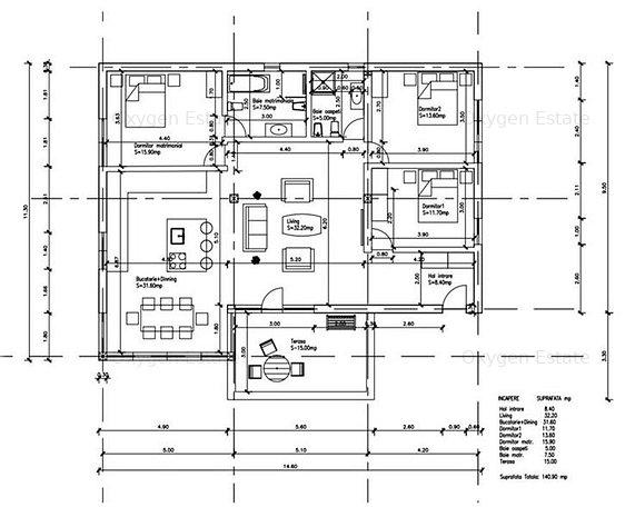 COMISION 0! Apartament cu 4 camere si Terasa in zona Stadionului CFR! - imaginea 1