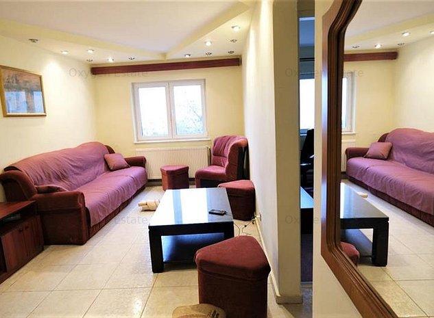 Apartament 3 dormitoare + living, cu paturi matrimoniale, zona Zorilor - imaginea 1