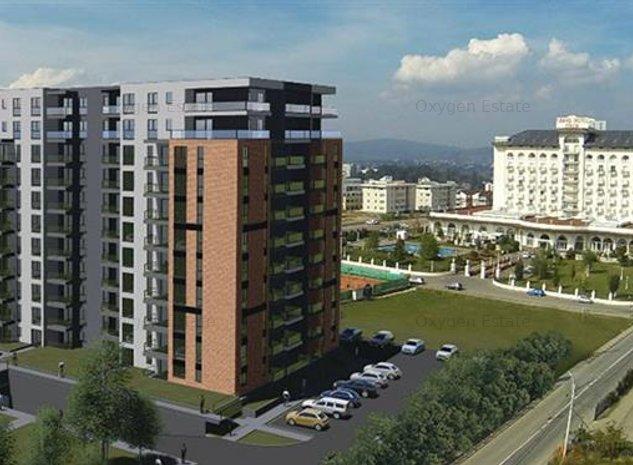 Apartament cu 2 camere, balcon, parcare, Grand Hill! - imaginea 1