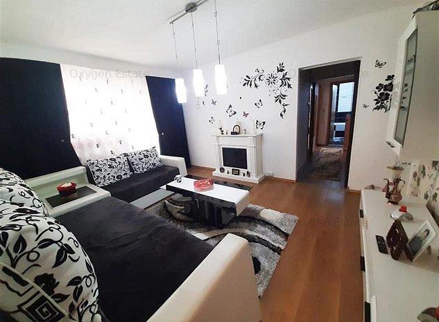 Apartament frumos cu 3 camere, etaj intermediar, Manastur - imaginea 1