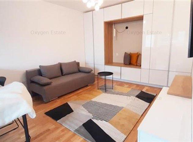 Apartament cochet cu o camera si Parcare subterana, cartier Buna Ziua - imaginea 1
