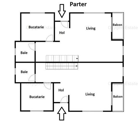 Comision 0! Casa tip duplex cu GARAJ, zona Voronet, PANORAMA superba! - imaginea 1